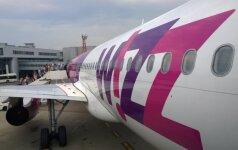 """""""Wizz Air"""" paskelbė 2017 m. vasaros skrydžių iš Lietuvos tvarkaraštį"""
