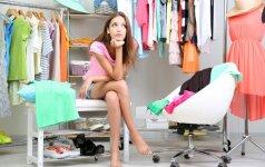 14 dalykų, kurių neturėtų būti suaugusios moters spintoje