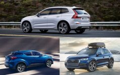 Volvo XC60/Toyota C-HR/Audi Q5