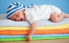 TESTAS: ką miego poza pasako apie vaiką