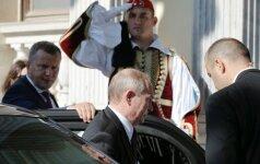V. Putinas atvyko į Graikiją