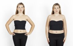 Eksperimentas: kiek pažinčių svetainėje dėmesio sulaukia liekna ir kiek apkūni moteris FOTO