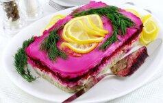 SILKĖ PATALUOSE Paruoškite mėgstamas salotas taip, kaip dar niekada neruošėte