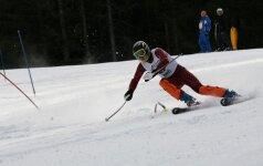 Lietuvos kalnų slidinėjimo čempionai suderina mokslus ir sportą