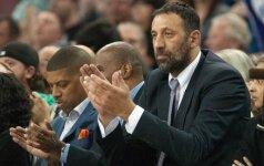 Krepšinio legenda V. Divacas gina naują FIBA formatą: žaidėjai turės laisvą vasarą