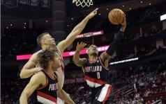 """D. Motiejūno naudingas žaidimas padėjo """"Rockets"""" klubui švęsti 28-ą pergalę"""