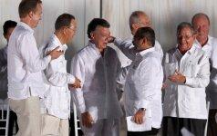 Nuo rugsėjo 1 dienos įsteigiama Kolumbijos FARC sukilėlių politinė partija