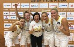 LSU merginos – pasaulio trijulių krepšinio čempionės