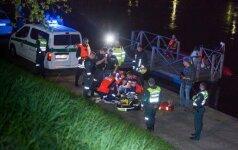 Vilniaus centre į upę įkrito žmogus, jo gyvybės išgelbėti nepavyko