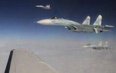 Latvija skelbia apie prie jos sienų priartėjusius keturis Rusijos karinius orlaivius