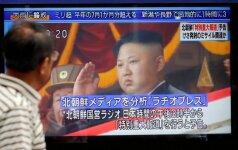 JAV patvirtino, kad uždraus savo piliečiams vykti į Šiaurės Korėją