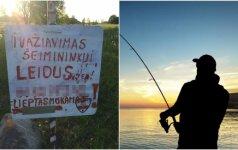 Norintiems prieiti prie ežero siūlo susimokėti: gudrių poilsiautojų tai nesustabdo