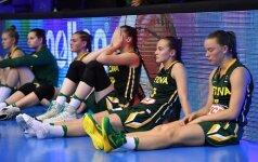 Lietuvos 18-metės krepšininkės