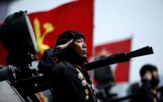 Kinija: dialogas ir derybos su Šiaurės Korėja – vienintelis tinkamas kelias