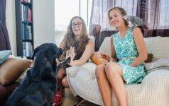 Užburianti šuns, katės ir papūgos draugystė: vilnietė Martyna parodė, ką jie moka