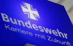 Vokietijos policija suėmė teroristinio išpuolio rengimu įtariamą karį