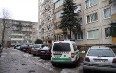 Kaune rastas, įtariama, nužudytas vyras, butas užrakintas iš vidaus