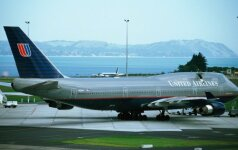 United airlines, boeing 747