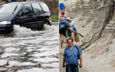 Svilinantis karštis, liūtys ir potvyniai – tik pradžia: gamta pasikeis neatpažįstamai