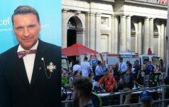 Žilvinas Grigaitis, išpuolio Melburne akimirka