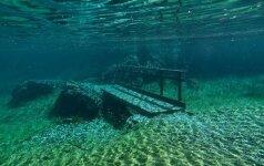 Gamtos stebuklai. Žaliasis ežeras Austrijoje: parkas vasarą pavirstantis ežeru