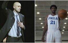 Darbuojasi NBA: Ž. Ilgauskas padeda likimo broliui