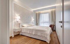 48 kv.m. apartamentai Vilniuje: tegyvuoja balta spalva