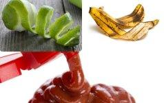 Maisto produktai, kurie puikiai valo