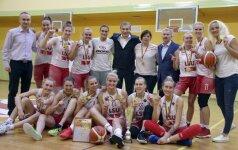 Lietuvos studenčių lygos čempionės – LSU krepšininkės