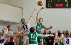 """Vilniuje """"Kibirkštis-Tichė-Iki"""" išlygino Lietuvos moterų lygos finalo serijos rezultatą"""
