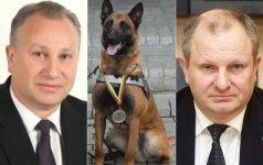 Virginijus Komskis, Ramzis ir Kęstas Komskis