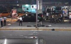Stambulo oro uoste nugriaudėjo du sprogimai, aidėjo šūviai