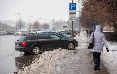 Netinkamas parkavimas Kaune
