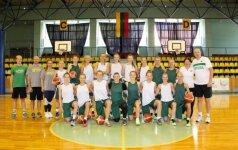 Lietuvos 20-metės trečią kartą nugalėjo ukrainietes