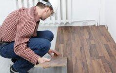 Pataria specialistas: šildomų grindų įrengimo ypatumai