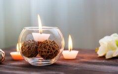 Patarimai, kurie padės nepasiklysti renkantis žvakes ir namų kvapus