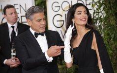 G. Clooney ir jo žmonos gyvenime – malonios permainos