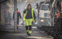 Kaune pakvips karštu asfaltu: prasidės gatvių remonto darbai