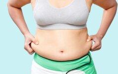 Penkios priežastys, kodėl negalite atsikratyti pilvo riebalų net ir sportuodami