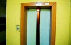 Kas nutinka krintant liftui?