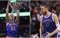 Lietuviškoji NBA savaitėlė: dominuojantis JV ir Niujorko publiką žavintis Kūzia