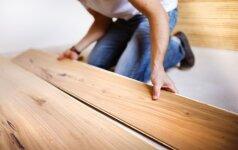 Medžio masyvo ar klijuotos medienos grindys: kurios tinka jums?