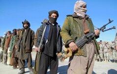 Talibano vado sūnus susisprogdino per išpuolį Afganistano bazėje