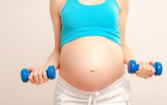Mankštos nėštumo metu – kam to reikia?