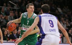 """""""Žalgirį"""" į neviltį varęs ir 35 balus surinkęs M.Markoišvilis tapo geriausiu savaitės žaidėju"""