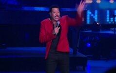 L. Richie'is surengė garsiausių savo dainų koncertą