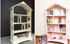 Darau pats: lėlių namas ir/ar knygų lentyna