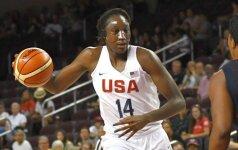 JAV moterų krepšinio rinktinė nugalėjo prancūzes
