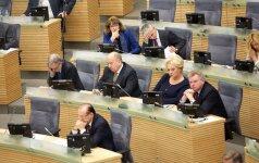 Seimas apsisprendė dėl Trišalės tarybos sudarymo tvarkos
