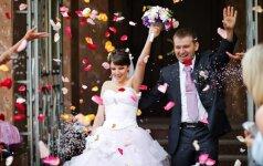 11 vasariškų vestuvių tendencijų